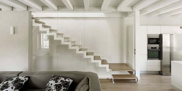 Scale interne di design per la tua casa a milano piazza for Designer di interni